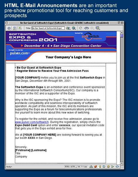 trade show invitation template