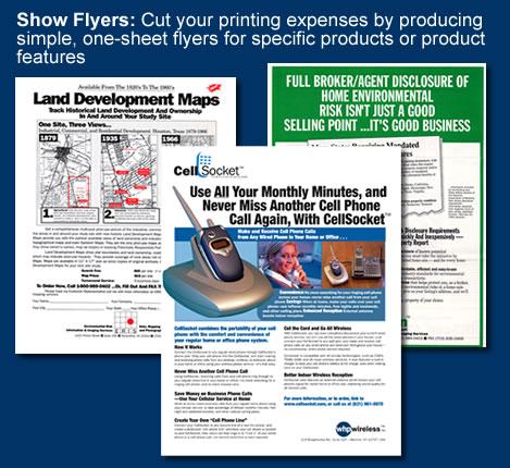 tradeshow flyers